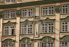 Prague. Windows.