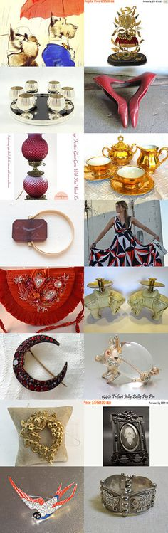 Vintage Vogue Gift Ideas by Betty J. Powell on Etsy--Pinned+with+TreasuryPin.com