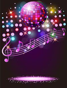 Vector background carnival celebration ktv bar nightclub