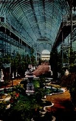 The Crystal Palace (Great Exhibition Building) #London late 1800s