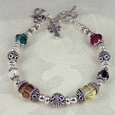 Proclaim the Christmas story on your wrist this holiday season with a sterling silver Nativity Bracelet. It really isn't that difficult to make a quality N her style DIY, do it yourself, her style, how to make a nativity bracelet, Nativity Bracelet