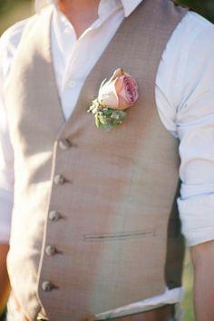 Nice colour waistcoat / suit.
