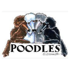 Poodles Lover Poster