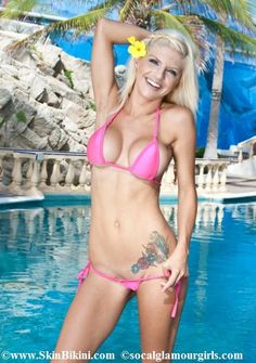 BY-0566 Micro Teeny Bikini Swimwear Side-Tie