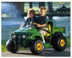 John Deere Gator power wheels battery power ride on gator