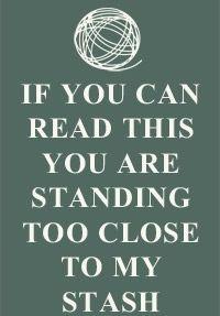 Si puedes leer esto estás demasiado cerca de mi alijo. / http://www.iliveonafarm.com/homedecor.html