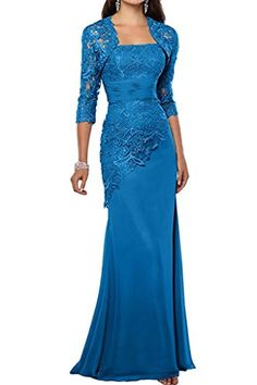 Shop a great selection of Pretygirl Women's Lace Long Mother The Bride Dress Jacket Formal Evening Gowns. Find new offer and Similar products for Pretygirl Women's Lace Long Mother The Bride Dress Jacket Formal Evening Gowns. Evening Gowns With Sleeves, Chiffon Evening Dresses, Mermaid Evening Dresses, Lace Chiffon, Mother Of The Bride Dresses Long, Mothers Dresses, Gown With Jacket, Jacket Dress, Gown Dress