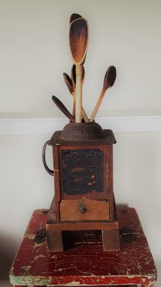 1800s Home Coffee Mill