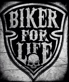 Biker For Life #accessories #motorcycle #caferacer #braap
