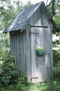 Ideas For A Decorative Garden Outhouse