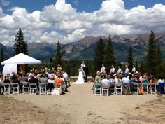 Wedding at Crested Butte Mountain Resort