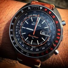What's On Your Wrist? : Photo Stylish Watches, Luxury Watches, Cool Watches, Watches For Men, Sporty Watch, Seiko Mod, Field Watches, Seiko Watches, Beautiful Watches