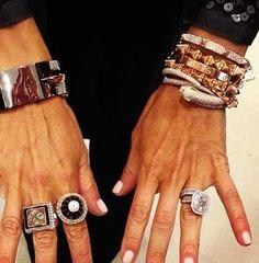 Anita Ko Bracelet Stack Love Rachael Zoe Jewelry Collection Vintage