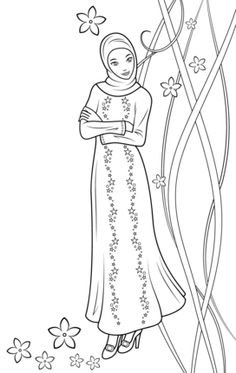 Fulla Doll coloring page