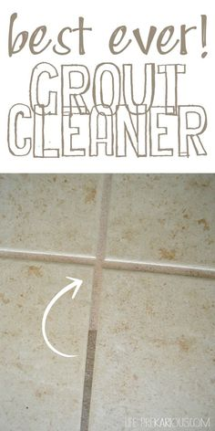 Best Ever Grout Cleaner