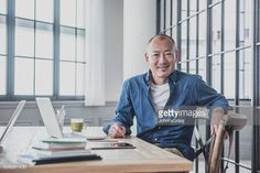 06-22 Japanese professional male worker sitting in modern studio... #orient: 06-22 Japanese professional male worker sitting in… #orient