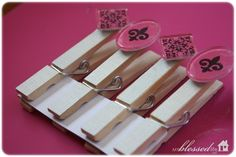 Clothespin Magnets {Easy Craft}