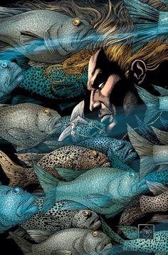 Aquaman by Ethan Van Sciver