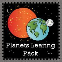 Planets Learning Printables