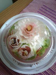 3d Jelly Cake, Jelly Flower, Gelatine, Cabbage, Vegetables, Food, Art, Essen, Cabbages