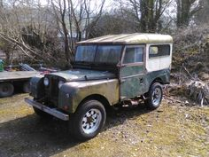 "LAND ROVER SERIES 1 ONE PROJECT 86"" 1956 