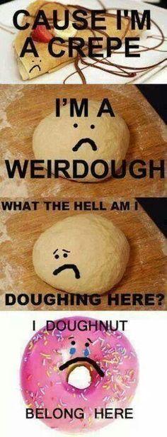 I'm a crepe! #radiohead #funny #meme