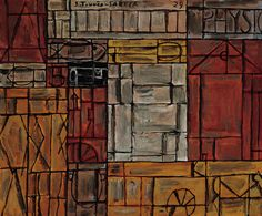 """1929 Joaquín Torres García: """"Phsyque"""" oil on canas 60 x 73 cm http:/www.fundacion.telefonica.com/es/que_hacemos/conocimiento/patrimonio_artistico/detalle/90;"""