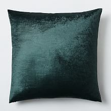 Cotton Luster Velvet Pillow Cover - Regal Blue