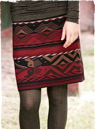 Bandar Pima Cotton Skirt beautiful texture and color