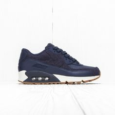 d2333484d8c417 Nike Nike Air Max 90 Prm Midnight Navy Midnight Navy 700155 401 10.5 Us Size