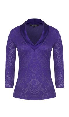 ETCETERA | Collections | Boutique | Holiday 2013 | 204412.  Helix top.  Color and fabric are stunning.