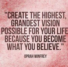 Envision greatness!