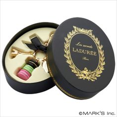 Macaron laduree keychain lanyards gift box-inKey Chains from Apparel & Accessories on Aliexpress.com