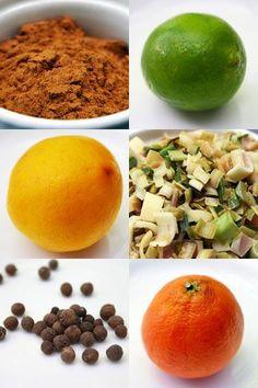 DIY tonic - Cinchona bark, lime, Meyer lemon, lemongrass, allspice berries and tangelo.