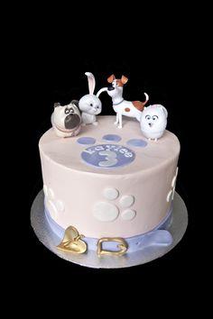 The Secret Life of Pets cake.  Gâteau Comme des bêtes.