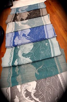 The Oscha Okinamis. On my wish list I think I'm a fan of the zen. I still need a ring sling:)
