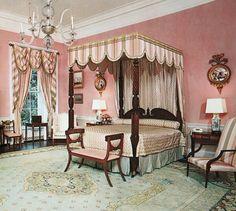 Queen bedroom, Whitehouse Museum.