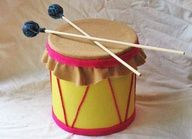Kids Crafts - Coffee Can Drum