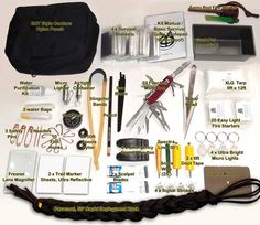 Share this on The Essentials to Have in Your Car Bug Out Bag / Emergency Kits