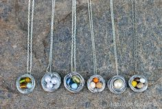 Sarah Ortega: diy {bird nest necklace}