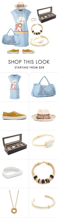 """""""Gives you best"""" by camry-brynn ❤ liked on Polyvore featuring Love Moschino, OneTeaspoon, Vans, Ibo-Maraca, Ringly, Maya Magal, Lizzie Fortunato and Elizabeth and James"""