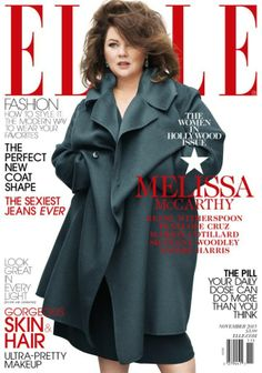 Melissa McCarthy Responds to Elle November Cover Shoot Controversy #MelissaMcCarthy #Elle #Celebrity