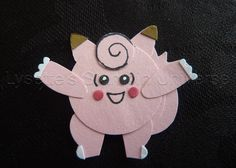 Gotta Craft Them All challenge dag 36: Cleffairy https://www.facebook.com/Lysettes.stampin.universe/