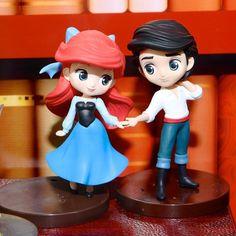 バンプレスト「Q posket Disney Characters Petit -Fantastic Time Ⅱ-」 リトル・マーメイド Disney Magic, Disney Art, Disney Pixar, Walt Disney, Disney Characters, Disney Princess Dolls, Disney Dolls, Anime Figures, Action Figures
