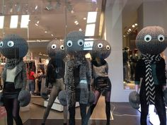 22 Mannequins That Look Like Something Out Of A Mall Horror Story Mannequin Heads, Playbuzz, Creepy Dolls, Horror Stories, Scary, Mickey Mouse, That Look, Halloween, Stylish
