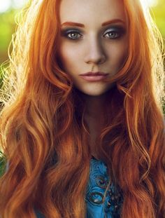 Orange Red Hair For Your Colorful Hair Styles