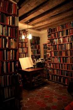 knowledge is wealth Beautiful Library, Dream Library, Home Library Design, House Design, Old Libraries, Bookstores, Library Inspiration, Reading Room, Book Nooks