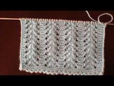 Cable Knitting Patterns, Knitting Videos, Knitting Stitches, Crochet Patterns, Tunisian Crochet, Filet Crochet, Crochet Top, Crochet Hats, Diy And Crafts
