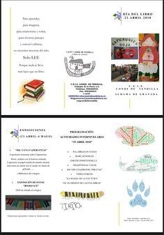 Programa de actividades del CEIP Conde de Tedilla
