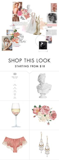"""I can feel it coming in the air tonight //"" by asterismos-x ❤ liked on Polyvore featuring RabLabs, Carine Gilson, GET LOST, Ralph Lauren and Polaroid"